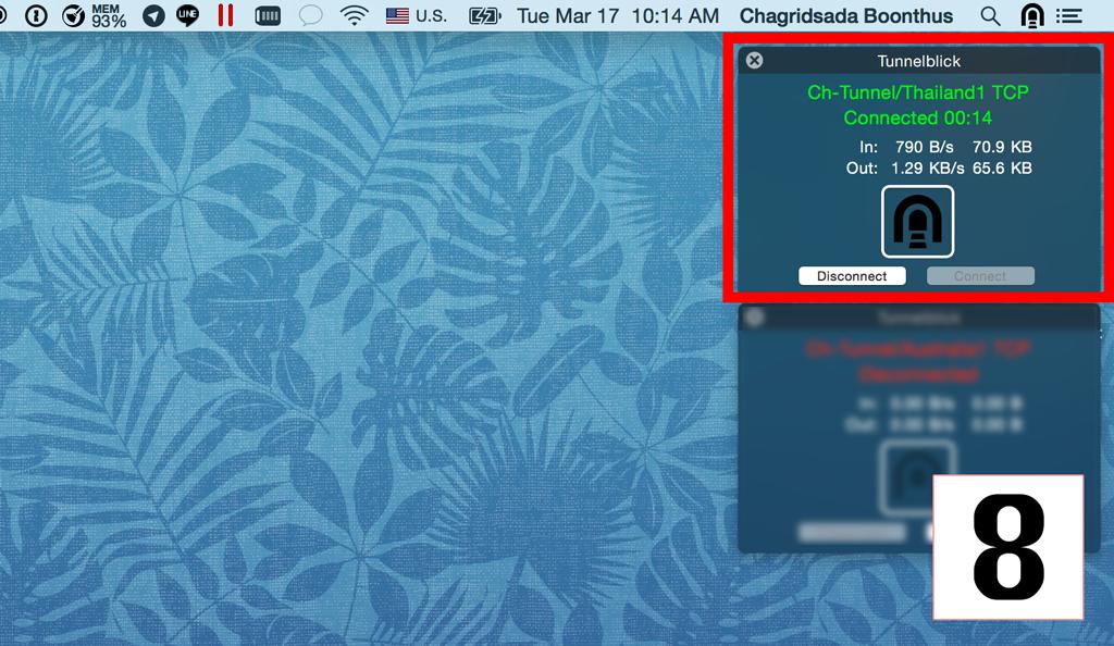 Setup mac step8